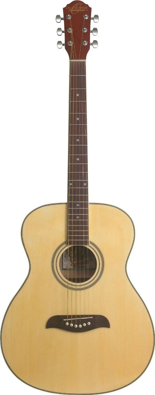 Oscar Schmidt OAN Acoustic Guitar - Natural by Oscar Schmidt