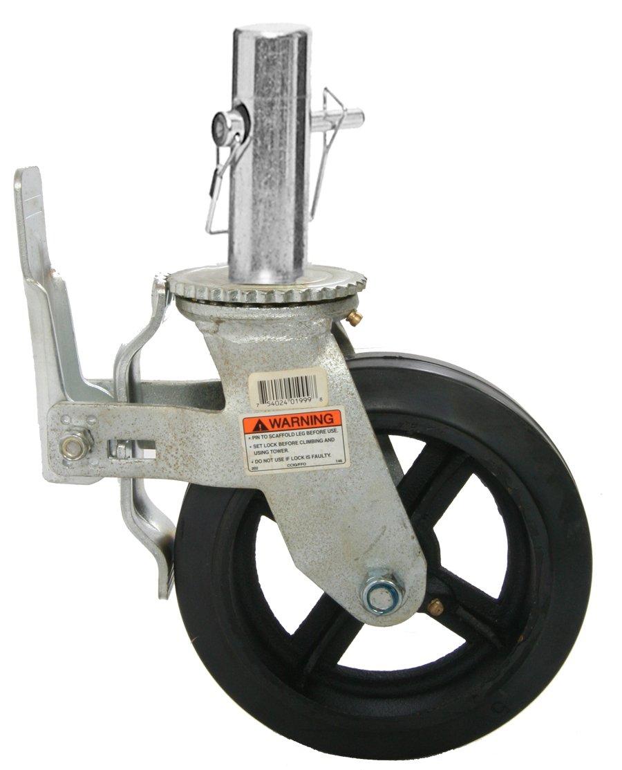 Bil-Jax 0026-762 Scaffold Caster 8'' - Cast Iron Hub