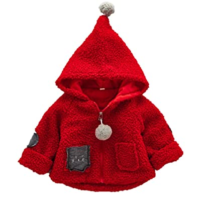 Baby Clothes Efaster Toddler Kids Girls Khaki Autumn Winter Hooded Zipper Jacket