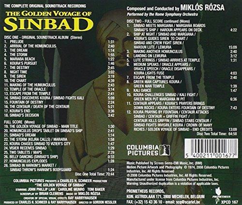 The Golden Voyage of Sinbad (OST) (2CD)