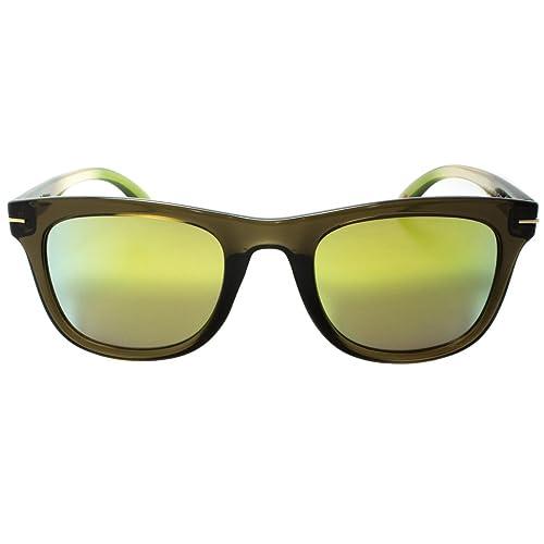 Verde gafas de sol por EGO verde lentes Gafas de sol estilo aviador para hombre Fashion