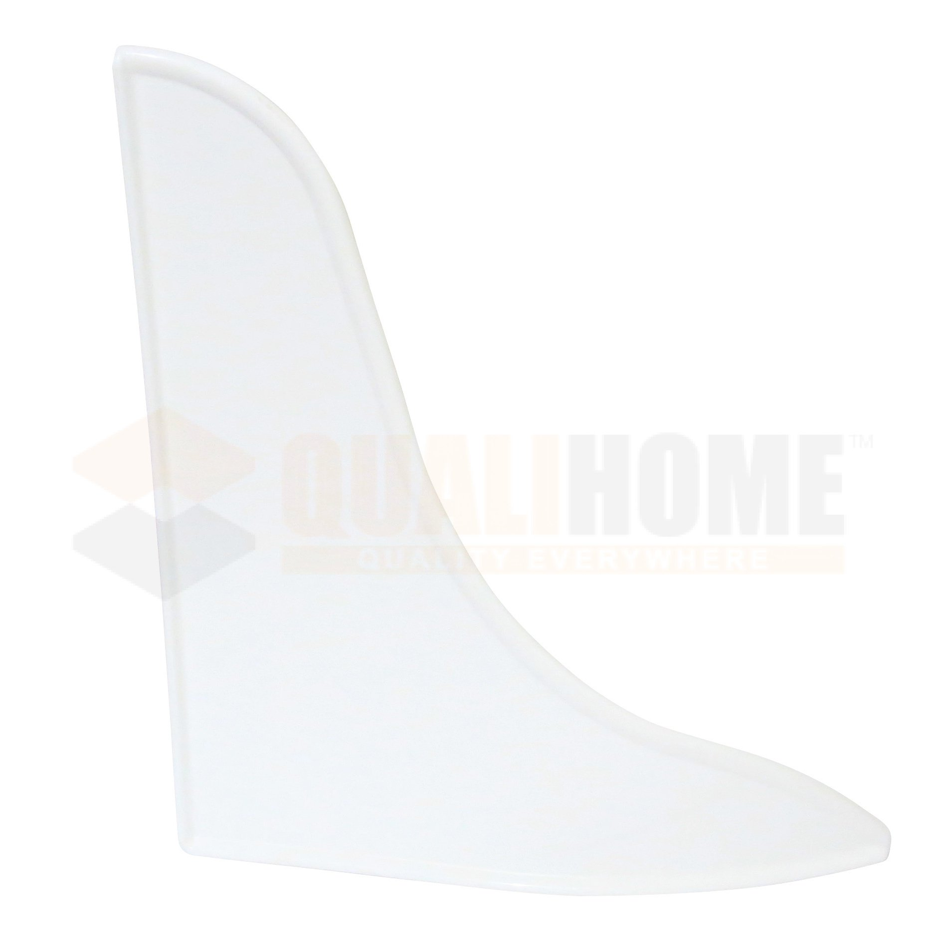 Bathtub Shower Splash Guard, White, 2-Pack by Qualihome