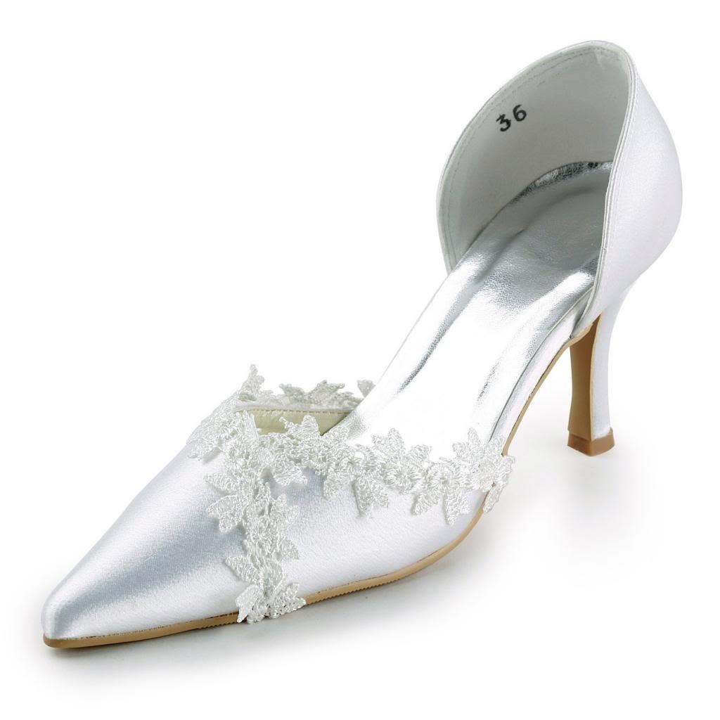 JIA JIA Wedding mariage A318 chaussures de JIA mariée mariage Escarpins JIA pour femme Blanc bc65990 - fast-weightloss-diet.space