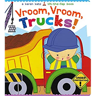 Vroom, Vroom, Trucks! (Karen Katz Lift-the-Flap Book)