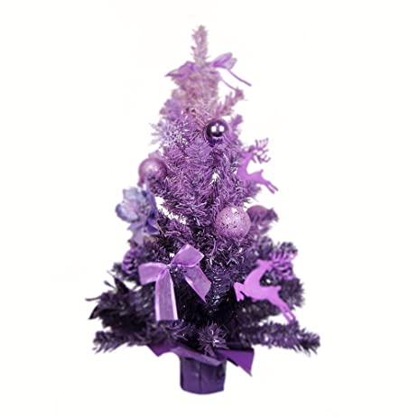 p60 lkklily christmas tree purple gradient tree christmas tree suit christmas decoration shopping mall hotel