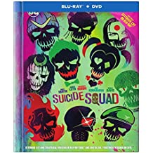 SUICIDE SQUAD Extended Cut Special Edition: Blu-ray + DVD + Digital Copy + 64-Page Collectors Book