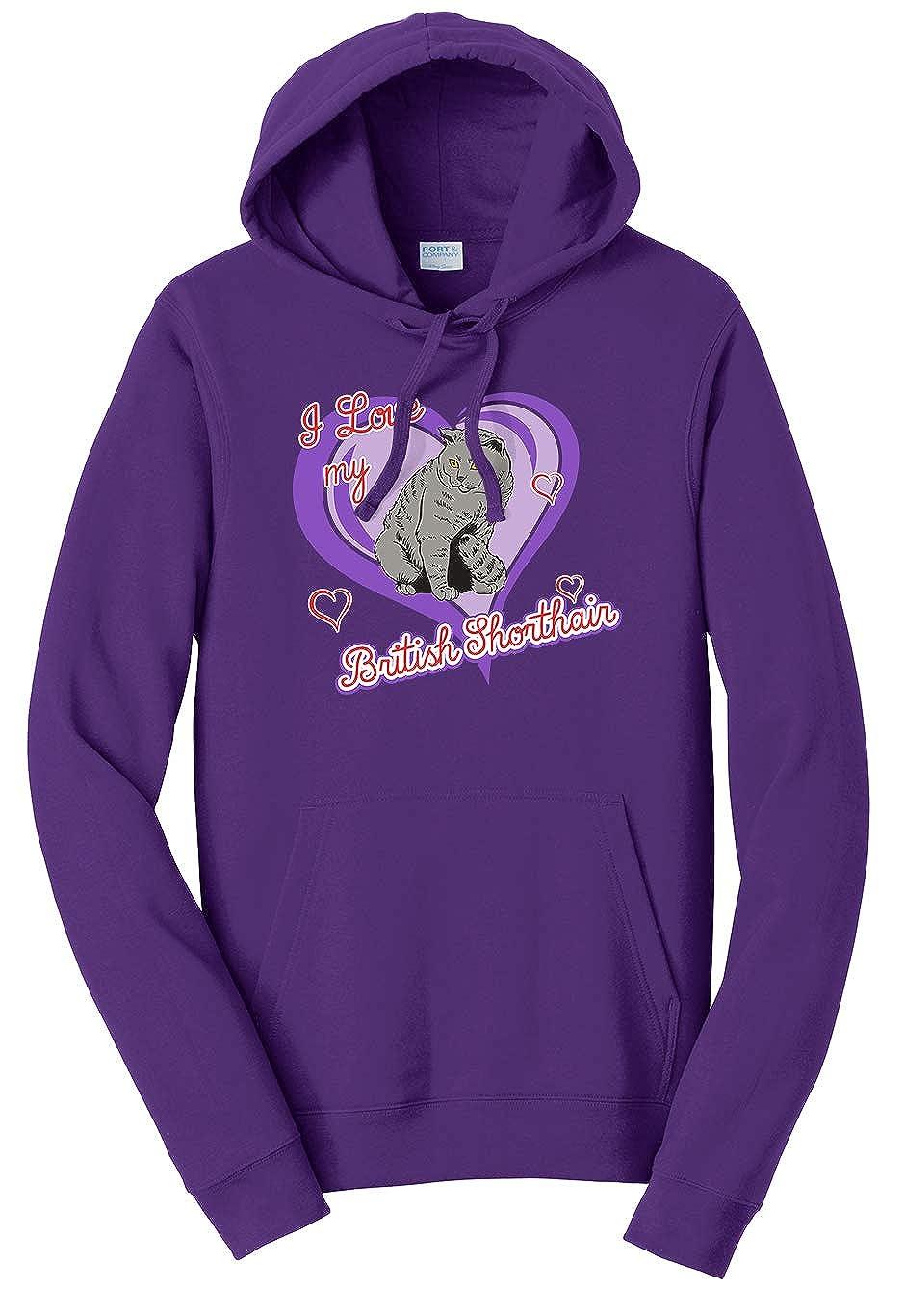 Tenacitee Unisex British Shorthair Cat Sweatshirt