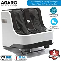 Agaro Relaxing Foot & Calf Massager for Pain Relief with kneading, rolling and vibration functions