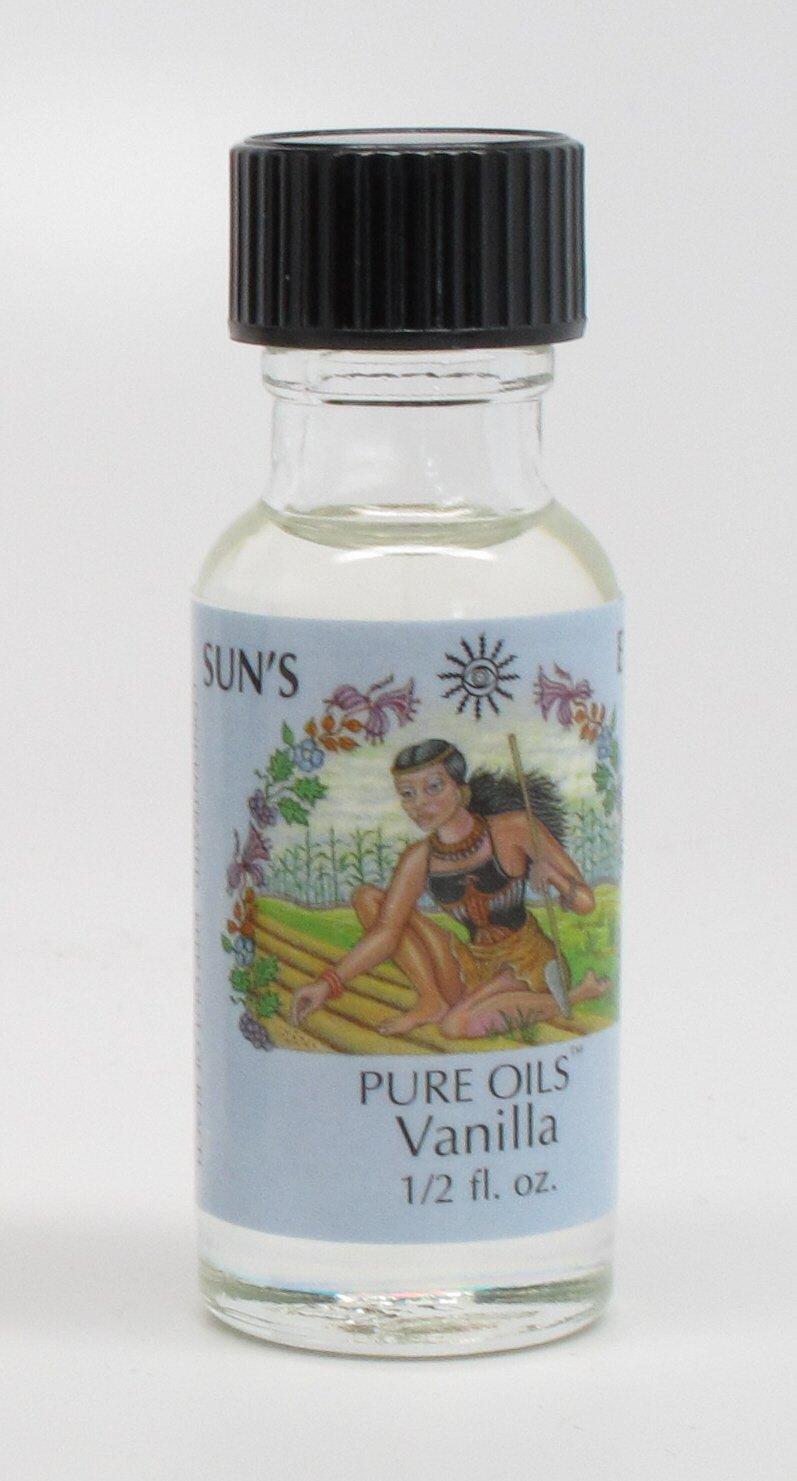 Vanilla - Sun's Eye Pure Oils - 1/2 Ounce Bottle 979