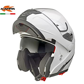 GIVI HKKV25BB91056 Modular Casco Kv25 Nevada, Color Blanco, Talla S/56