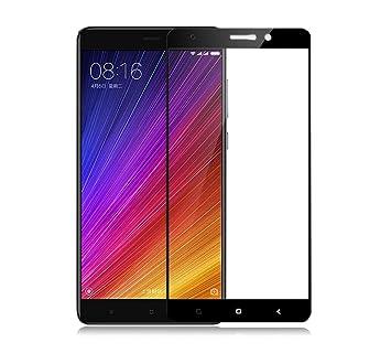 Xiaomi Mi5S Plus Protector de Pantalla Cristal, SMTR® Edge-Cobertura completa - Vidrio Templado 2.5D 0.33mm 9H Premium para Xiaomi Mi5S Plus Protector ...