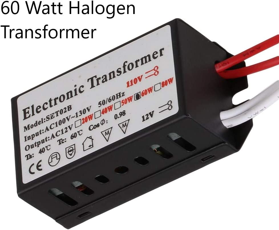 Actec Electronic Dimmable Transformer for 12v halogen light Mini60  20-60w