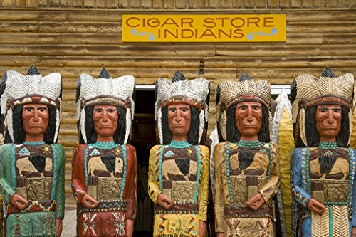 Cigar Indian Statue for sale | Only 2 left at -70%