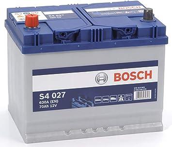 S4 027 Bosch Batterie De Voiture 12V 70Ah Type 069 S4027