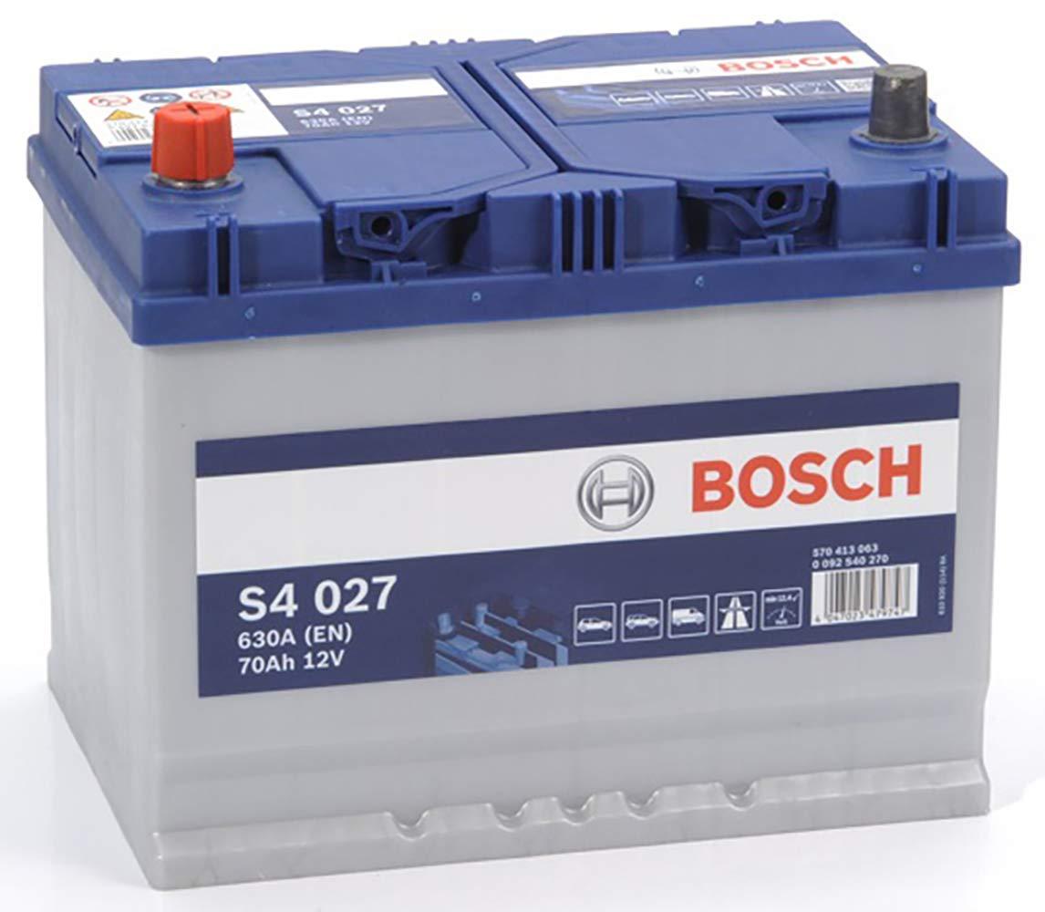 Bosch S4027 Batteria Auto 70A/h-630A BOSCH BATTERIE 0092S40270