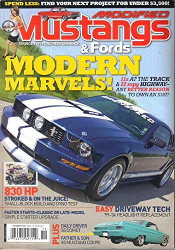 Modified Mustangs & Fords Magazine, November - Ford Pics Tom