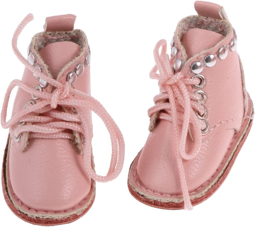 Gazechimp Juguetes de Fashion Muñeca Zapatos Cuero PU para 12 Pulgadas Blythe Marrón