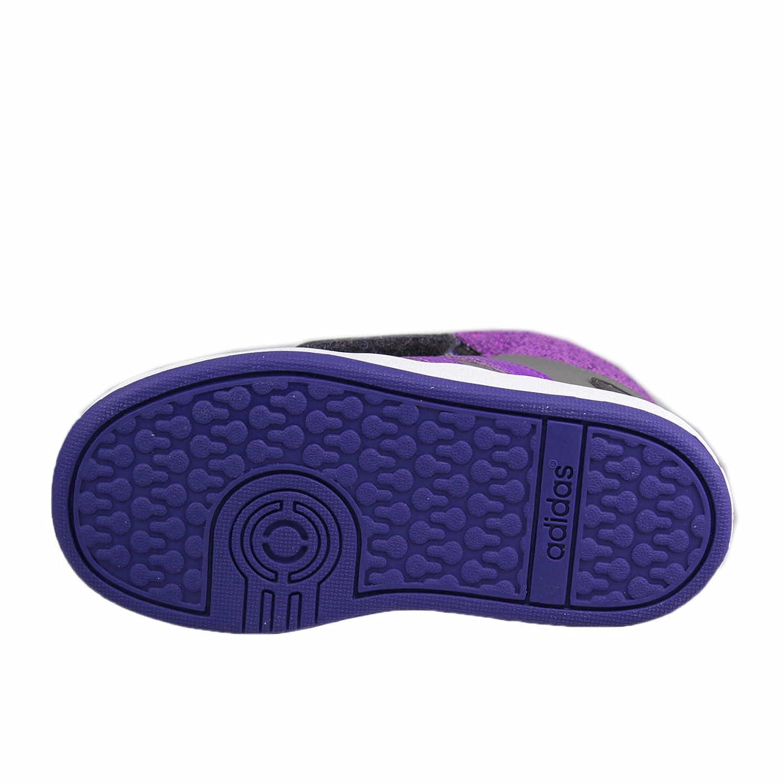 new styles 27efb bf4ea adidas NEO , Chaussures Premiers Pas pour bébé (Fille) - Gris - Grau Kombi,  22 EU Amazon.fr Chaussures et Sacs