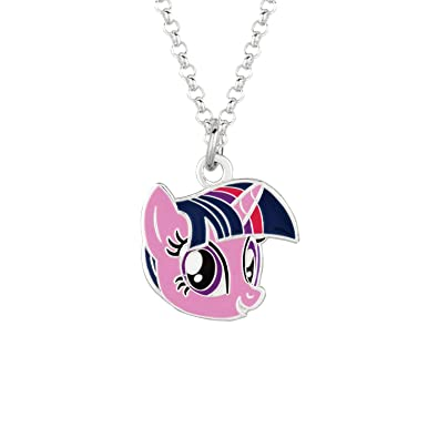 Fine silver plated twilight sparkle face my little pony pendant fine silver plated twilight sparkle face my little pony pendant necklace aloadofball Gallery