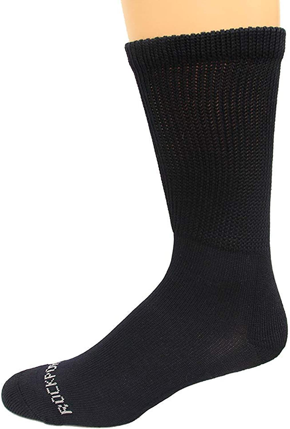 Rockport Men's Diabetic Crew Socks 1 Pair, Men's Shoe Size: 8-12