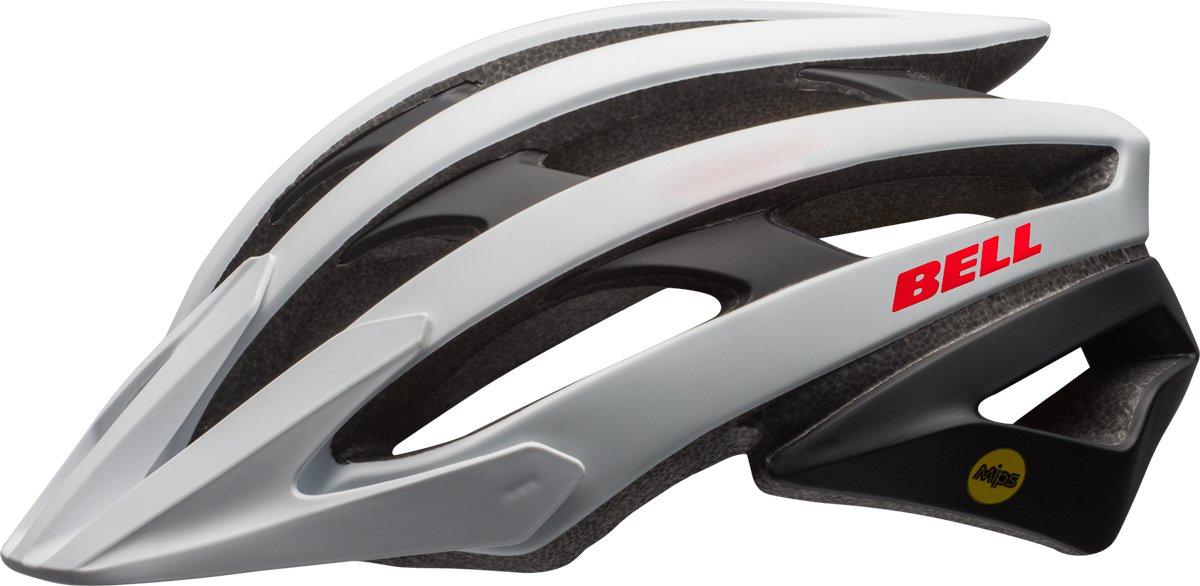 BELL Catalyst MIPS XC MTB Fahrrad Helm weiß schwarz rot 2017