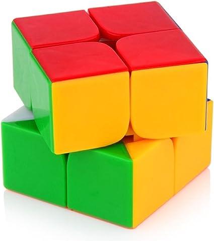Bighub Speed Cubes, High Stability Stickerless Cubes, Rubik Cubes for Kids (2x2 Cube)