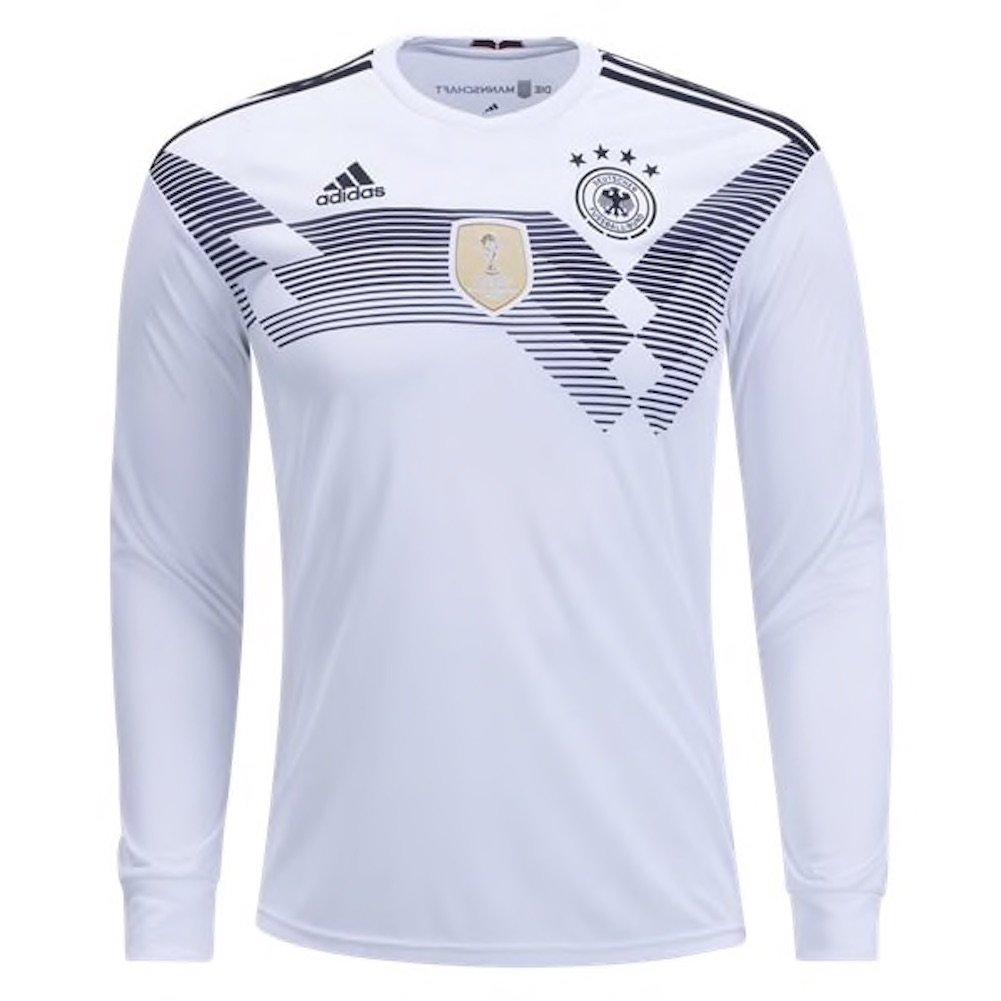 half off 7d9ef 6c1d9 adidas Men's Soccer Germany Home Long Sleeve Jersey