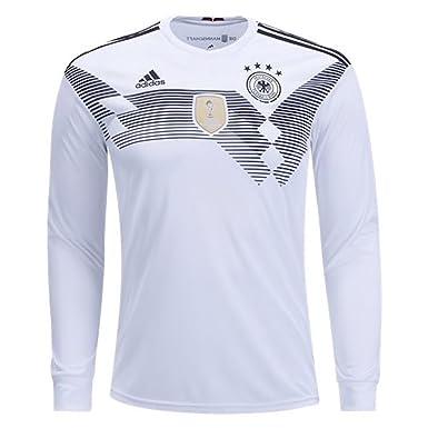 half off 97293 3210b adidas Men's Soccer Germany Home Long Sleeve Jersey