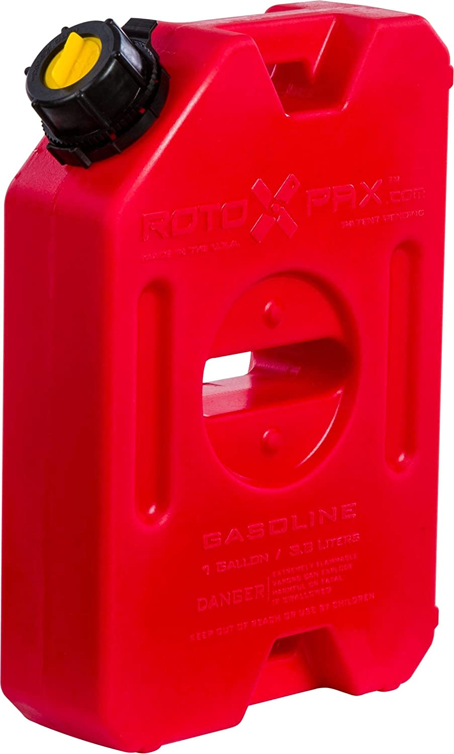 1 Gallon Capacity RotopaX RX-1G Gasoline Pack 1 Gallon Carb Compliant