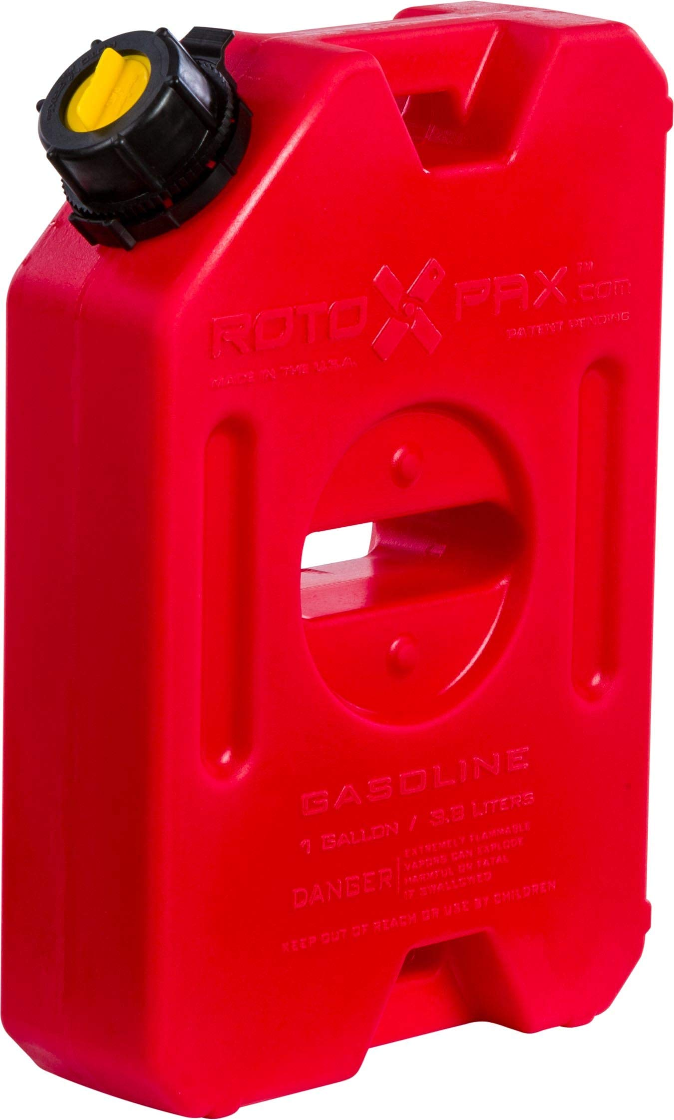 RotopaX RX-1G Gasoline Pack - 1 Gallon Capacity - Carb Compliant (1 Gallon) by RotopaX