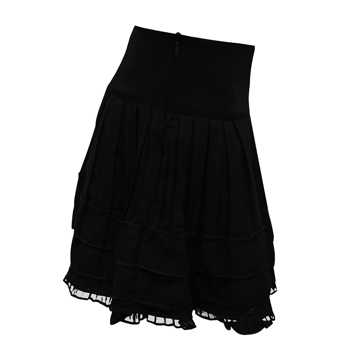 ENVY BOUTIQUE NEW GIRLS KIDS PLAIN PETTICOAT CASUAL SUMMER FRILL SKATER RA  RA LAYERED SKIRT GREEN 13 YEARS: Amazon.co.uk: Clothing