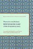Der Welsche Gast : The Italian Guest, Thomasin, 1580441459