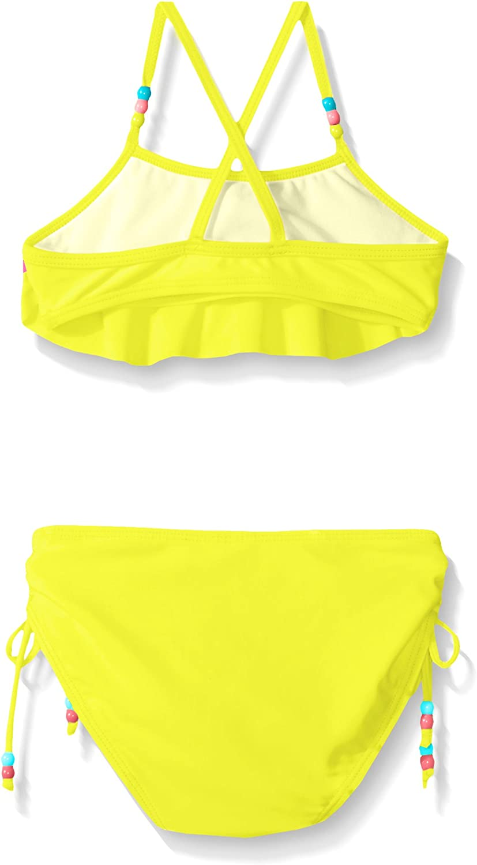 Limited Too Girls Colorblock Ruffle Bikini