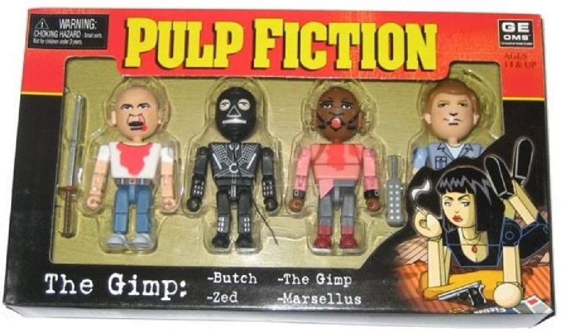 Pulp Fiction The Gimp 4 Mini-Figuras PVC articuladas ca 7-8cm