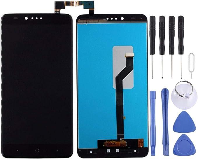 YANCAI Repuestos para Smartphone For ZTE ZMax Pro / Z981 Pantalla LCD y Digitalizador Ensamblaje Completo (Negro) Flex Cable (Color : Black): Amazon.es: Electrónica