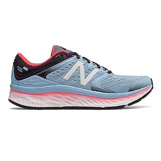 New Balance Women's 1080v8 Fresh Foam Running Shoe, Light Blue, 10 B US