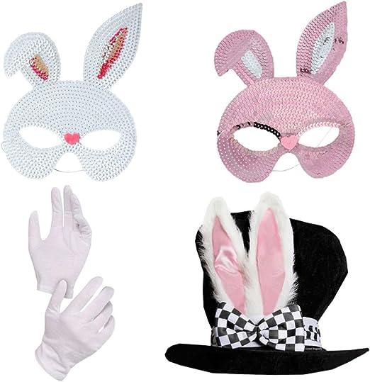 Holibanna Accesorio de Disfraz de Conejo de Carnaval Orejas de ...