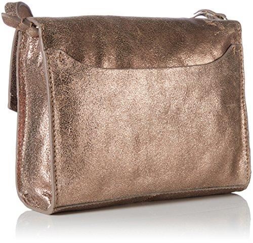 Clarks Treen Island - Henkeltasche Unisex adulto Dorado (Bronze Leather)