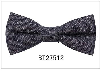 Necktie Bow Corbatín de Lana de algodón para Hombre, Casual ...