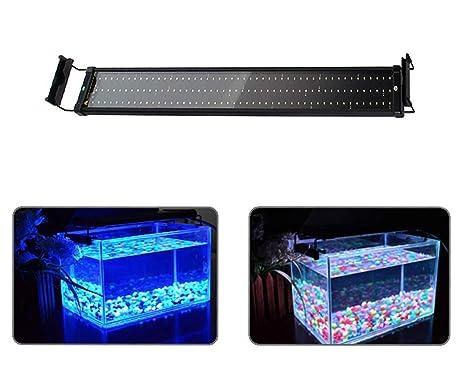 MLJ Luz LED Acuario para Acuario Clip De Soporte De Luz LED para Peceras,5