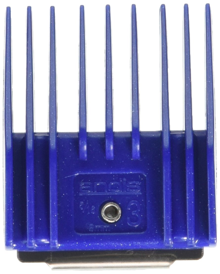 Andis Plastic Universal Snap-On Small Pet Clipper Comb, Size 3, 5/16-Inch Cut, 8mm