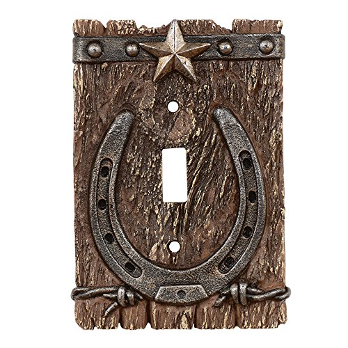 Black Forest Décor Western Ranch - Horse Covers Light Switch