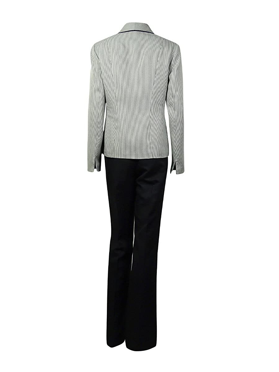 794d7891b3c Amazon.com  Le Suit Womens Country Club 2PC Houndstooth Pant Suit  Clothing