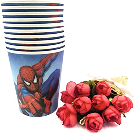 Amazon Com 131pcs Spider Man Party Supplies Favors Set Napkins Plates Tablecloth Cups Knives Forks Spoons Spiderman Birthday Party Decoration Kids Health Personal Care