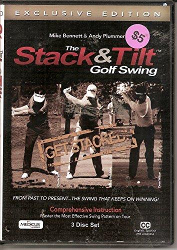 Medicus Stack and Tilt Golf Club Swing (3 Disc Set) Comprehensive...