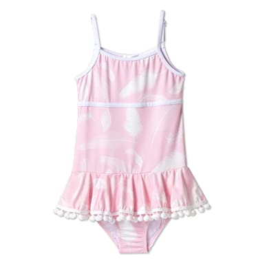 8043c0bce9 Image Unavailable. Image not available for. Color  Stella Cove Pink  Swimsuits for Girls