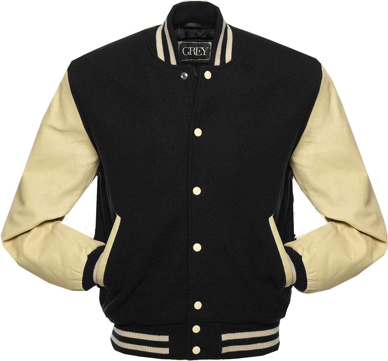 Varsity Jacket | Baseball | Letterman | Leather & Wool Jacket | College Jacket | Bomber Jacket | at  Men's Clothing store