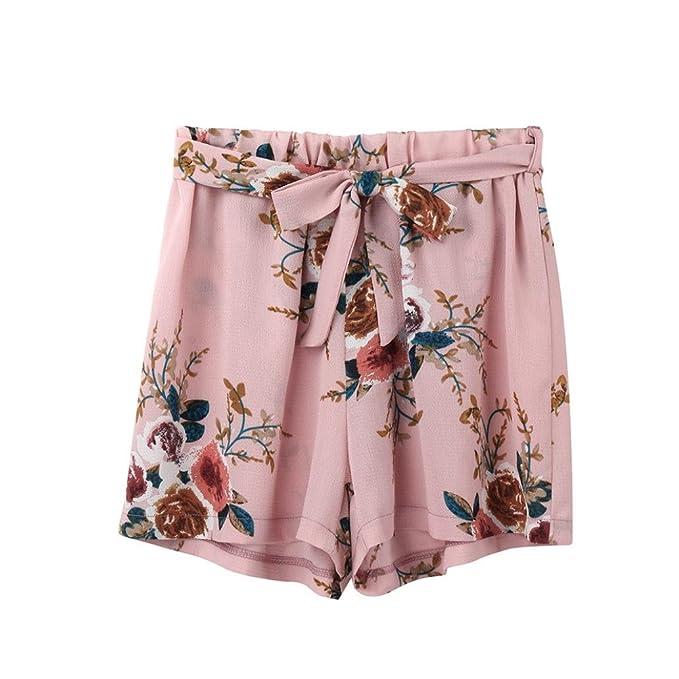 b5ce1120375a Shorts Damen Sommer Locker Luckycat Kurze Shorts Damen Sommer Bedruckte  Damen Taillen Damen Shorts Hose Sommerhosen