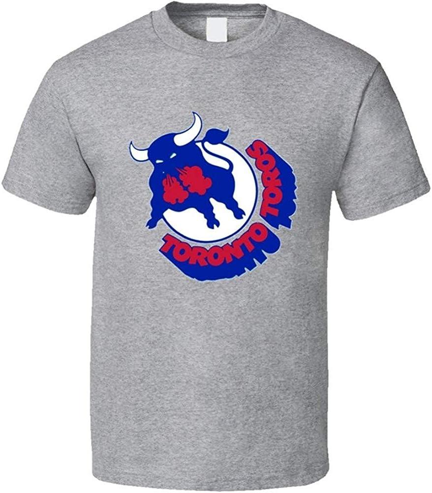 ZJKDKJYXG Camiseta Toronto Toros Wha 70s Retro Hockey: Amazon.es: Ropa y accesorios