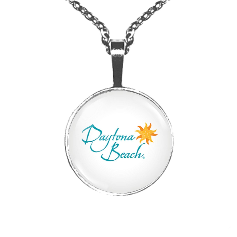 MiroGlas Clario Pendant Necklace (Daytona Beach)